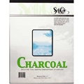 "#35 - 9""x12"" Charcoal/Pastel Paper - 24 Sheet Pad"