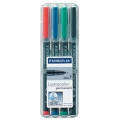Lumocolor Permanent Marker Fine Set of 4