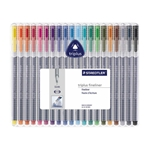 Triplus Fineliner Pens - Set of 20 Colors
