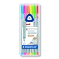 Triplus Fineliner Pens - Set of 6 Neon Colors