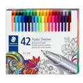 Triplus Fineliner Pens - Set of 42 Colors