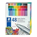 Triplus Fineliner Pens - Set of 48 Colors