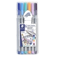 Triplus Fineliner Pens - Set of 6 Summer Festival Colors