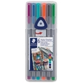 Triplus Fineliner Pens - Set of 6 Urban Escape Colors