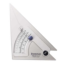 "10"" Adjustable Triangle - with Slope & Rise"