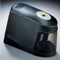 Battery Powered Pencil Sharpener -- Black