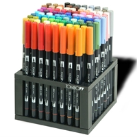 Complete Dual Brush Pen Set of 96
