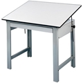 "36"" x 48"" DesignMaster 4-Post Drawing Table"