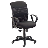 CH726 : Alvin Salambro Mesh Fabric Managers Chair