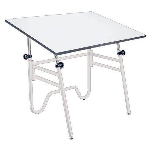 Alvin 36 X 48 Opal Drafting Table Base Color Black Or White OP48