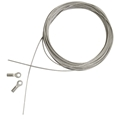 "19' Lubricated Stainless Steel Replacement Cable for 30"" to 42"" Straightedges"