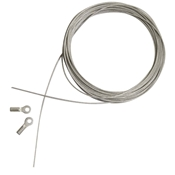 "7355A : Mayline 19 Lubricated Stainless Steel Replacement Cable for 30"" to 42"" Straightedges"