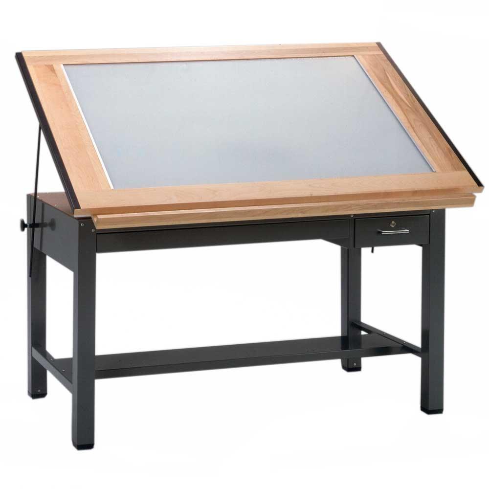 Drafting table light - 7734blt Mayline 37 5 X 48 Ranger Light Table