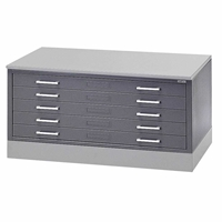 "5J15 : Mayline Hamilton Regular 5-Drawer Flat File for 24"" x 36"" Media"