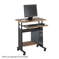 "muv 28""W Adjustable Height Workstation Computer desk; Computer desks; Computer table; Desk; Adjustable desk; Adjustable desks; Adjustable workstation; Adjustable height desk; Height adjustable desk; Standing desk; Standing workstation; Standup desk; Standup workstation; Stand up desk; Stand up workstation"