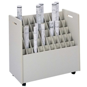 3083 : safco Mobile Roll Files/50 Tubes
