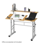 3965MO : safco Height Adjustable split Level Drafting Table
