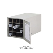 4960 : safco steel Roll Files 16 Compartments