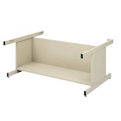 "4975 : safco 20"" Flat File Base with Bookshelf for 4994"