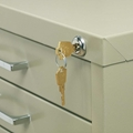 4983 : safco Lock Kit for 10-Drawer File