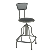 6664 : sAFCO Diesel stool High Base with Back