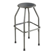 "6666 : safco Diesel 22""-30"" Adjustable Height stool"
