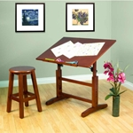 Creative Table and Stool Set Drafting Furniture, Drafting Tables and Drawing Boards, Drafting Table Sets, drawing table
