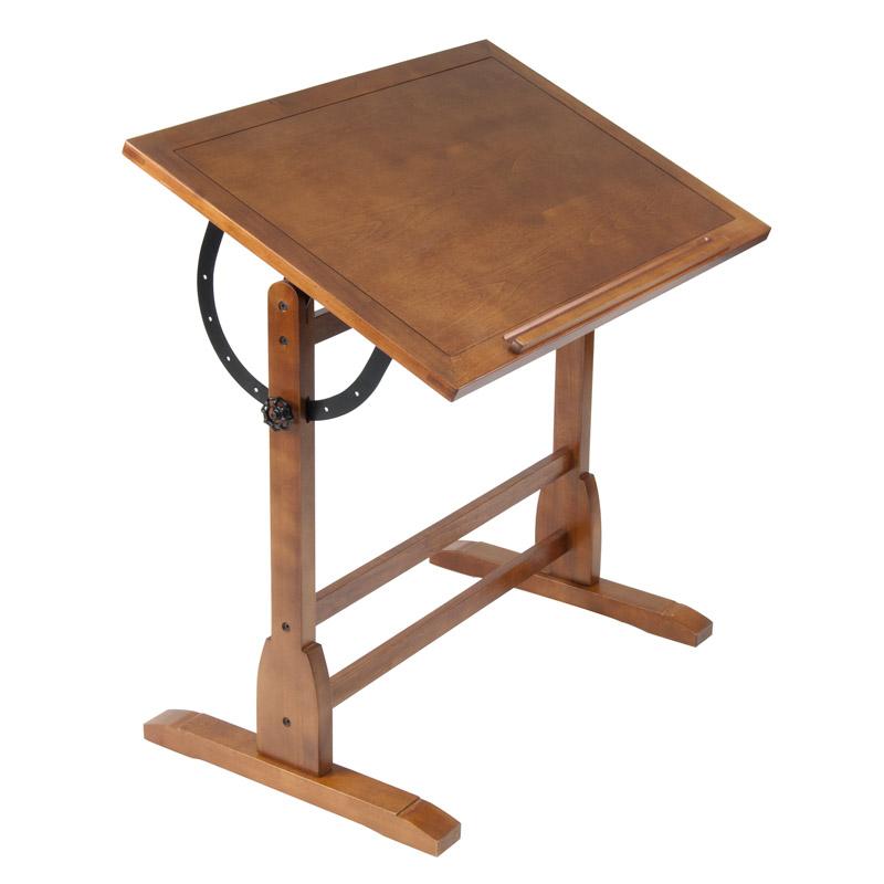 Studio Designs 36 Vintage Drafting Table Color Rustic Oak 13304