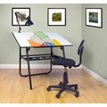 3-Piece Ultima Drafting Desk Set