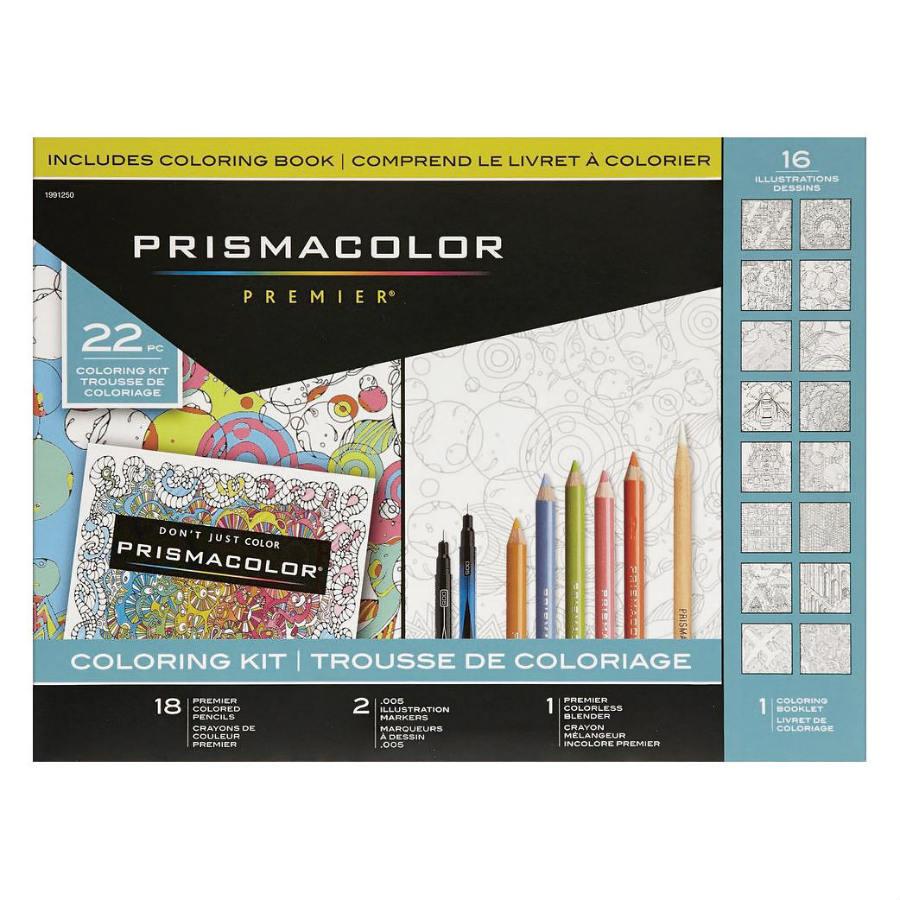 Prismacolor premier coloring kit sn1991250 prismacolor premier coloring kit nvjuhfo Image collections