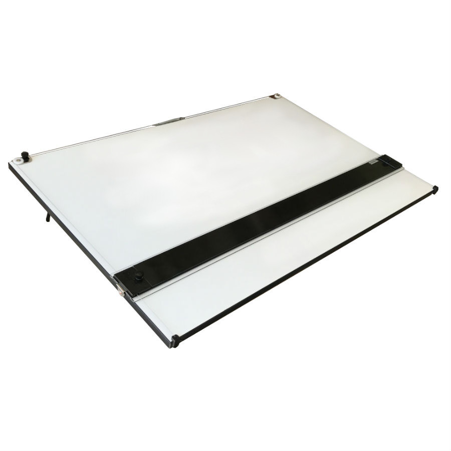 "24"" x 36"" Portable Drafting Board with Mayline Straightedge"
