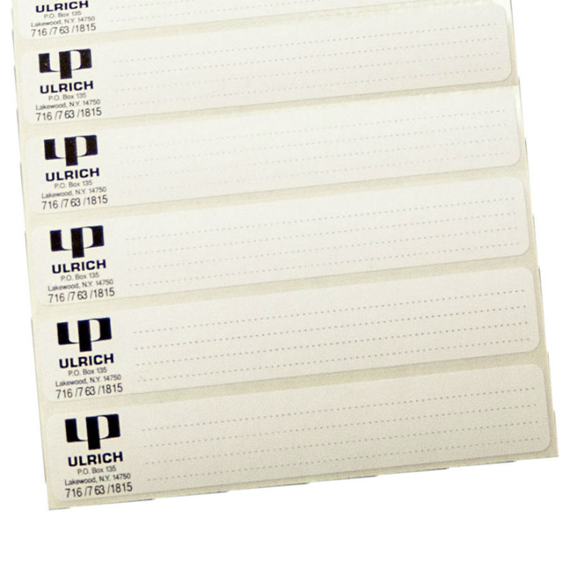Flat File Folder Labels - UL-100